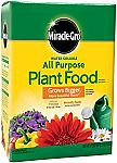 10-Pound Miracle-Gro All Purpose Plant Food (Plant Fertilizer) $14.61