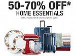 Macys - 4-Hour Popup Sale: Extra 50-70% Off Select Home Essentials