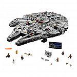 LEGO Star Wars Millennium Falcon 75192 $799.99