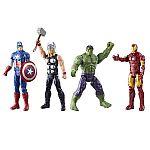 Marvel Titan Hero Series Avengers (4-Pack) $13 (orig. $30)