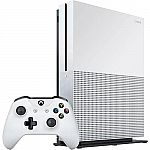 Xbox One S 500GB Gaming Console + $50 Gift Card $190