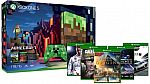 Xbox One S 1TB Console – Minecraft Limited Edition Bundle + 2 Free Select Game $299
