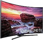 """55""""  Samsung MU6490 Series LED Ultra HD Curved 4K Smart TV with HDR $499"""