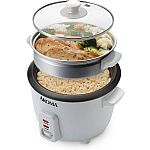 Aroma 3 Cups Uncooked/6 Cups Cooked Rice Cooker & Steamer $15.64 (Save 48%)