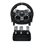 Logitech G920 Driving Force Racing Wheel for Xbox One and PC $200