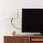 AmazonBasics Ultra Thin Indoor TV Antenna (35 Mile Range) $3 (Used, Like New)