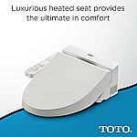 Amazon: TOTO & BioBidet Electronic Bidet Sale: Model A100 $206, K300 $550, BioBidet Bliss BB2000 $485 and More