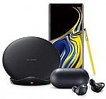 Samsung Galaxy Note9 Factory Unlocked Phone 128GB + Gear IconX Bluetooth Earbuds + Samsung Qi Wireless Charger Stand $929