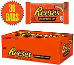 Reese's Peanut Butter Cups, 1.5 Ounce (Pack of 36) $19