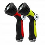 2-Pack Aqua Joe Adjustable Hose Nozzles w/ Smart Throttle Control $5 + Free Shipping