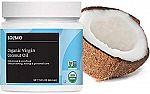Amazon Brand Solimo Organic Virgin Coconut Oil 15-oz Unrefined $3.40, 30-oz Refined $4.37