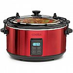 Cooks 5-Qt. Programmable Latch and Travel Slow Cooker $11.24 after rebate
