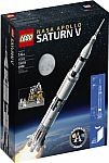 BN Lego Deal: $5 Off Every $25 + 20% Off: 21309 LEGO Ideas NASA Apollo Saturn V $80 and more