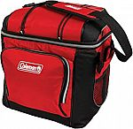 Coleman 30-Can Soft Cooler With Hard Liner (Red) $13 (50% Off)