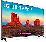 LG 75UK6570PUB 75-Inch 4K Ultra HD Smart LED TV (2018 Model) $1199 + Get $300 Dell eGift Card