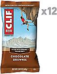 12 Count Clif BAR -  Chocolate Brownie $5.65 + Free shipping