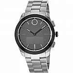 MOVADO Bold Connected II 44mm Smartwatch (Silver, Silver Stainless Steel Band) $265