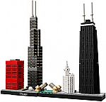 LEGO Architecture Chicago 21033 Skyline Building Blocks Set $30, LEGO Creator Tower Bridge 10214 $195, and more