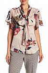 Trina Turk Bracken Floral Print Silk Blend Blouse $80 (68% off) & More