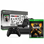 Xbox One X NBA 2K19 1TB + Call of Duty: Black Ops 4 + Extra Xbox Controller $470