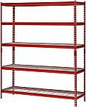 "Muscle Rack 5-Shelf Steel Shelving Unit (60"" x 72"" x 18"") $64 and more"