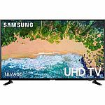 """Samsung 55"""" NU6900 Smart 4K UHD TV (2018) $349 w/Frys daily email discount code"""