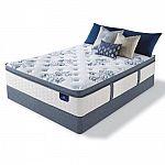 Serta Kerrington Cushion Firm Pillowtop Queen Mattress Set $498 + Free Shipping