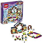 LEGO Friends Snow Resort Ice Rink 41322 Building Kit (307 Piece) $19 (Org $30)