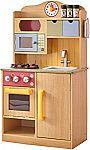 Teamson Kids - Little Chef Wooden Toy Play Kitchen $62 (org $169)
