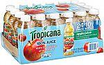 24-Ct Tropicana 10oz 100% Apple Juice $9.38