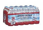 24-Pack of 16.9oz Crystal Geyser Spring Water 2 for $3 (or 20x 24-Pk for $21)