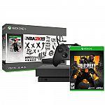 Xbox One X 1Tb NBA 2K19 Bundle + Call of Duty: Black Ops 4 $440
