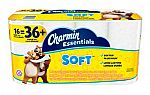 96 Rolls Charmin Essentials Soft Bathroom Tissue $36 + Free Shipping