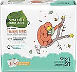 200Ct Seventh Generation Toddler Potty Training Pants (2T-3T) $32