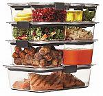 Rubbermaid Brilliance 18-piece Food Storage Set $18 + Free Shipping