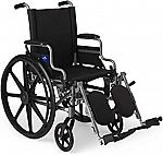 Up to 25% off Medline mobility devices: Rollator Walker with Seat, Toilet Safety Rails, Wheelchair and more