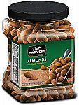Nut Harvest Lightly Roasted Almonds, 36 Ounce Jar $8.57