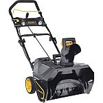 """Poulan Pro 20"""" 40-Volt Lithium-Ion Rechargeable Battery Snow Thrower $260"""