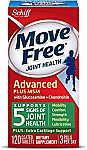 120-Ct Move Free Advanced Plus MSM Joint Health Supplement with Glucosamine & Chondroitin $11.43 or Less