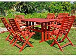 International Caravan RE-07-FA-127-6CH-BRD-IC Furniture Sciacca Acacia Wood 7- Piece Dining Set $71 (org $604)