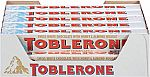 20-Pack Toblerone Swiss White Chocolate with Honey and Almond Nougat $21 or Less