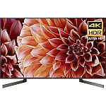 "Sony XBR55X900F 55"" 4K LED TV $899, 65"" XBR65X900F $1299"