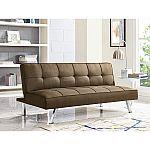 Serta Crestview Convertible Sofa, Brown $119.88