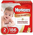 192-Count Huggies Snug & Dry Diapers (Size 4) $26.39 and more