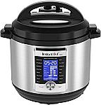 Instant Pot Ultra 8 Qt 10-in-1 Multi- Use Programmable Pressure Cooker $120