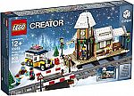 LEGO Creator Expert Winter Village Station 10259 $55, LEGO Fantastic Beasts Newt's Case Magical Creatures (694 Piece) 75952 $40 and more