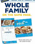 2019 Calendar from Perdue Free