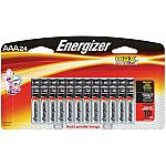 Energizer MAX Alkaline AAA Batteries (24-Pack) $10 (33% off)