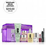 Best-of-Clinique Set (include 5 full sizes, $210 value) $49.50 w/$29.50 purchase