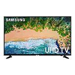 """SAMSUNG 55"""" Class 4K (2160P) Ultra HD Smart LED TV UN55NU7200 $399, 65"""" $599 + Get $20 VUDU Credit"""